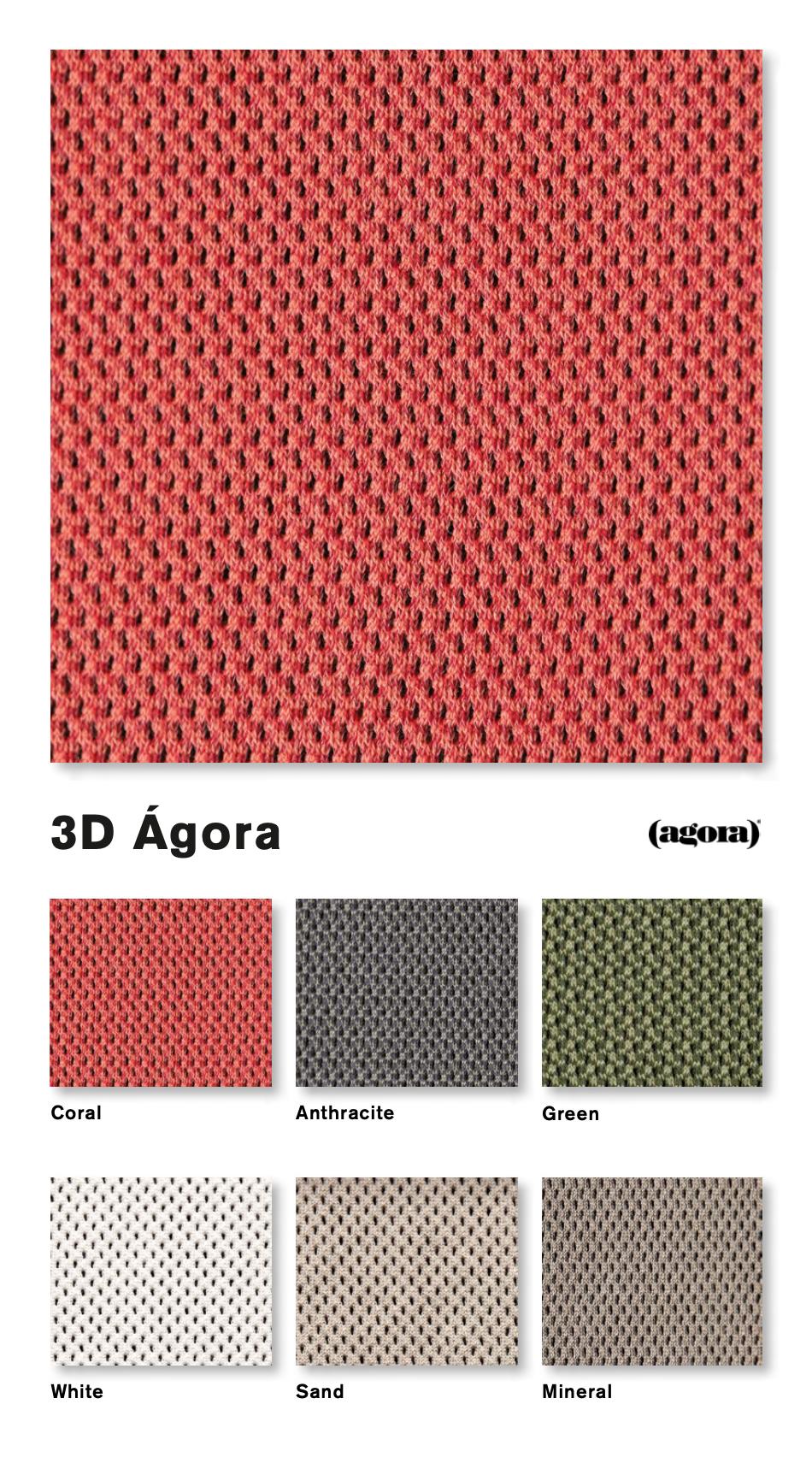 Foto de tejidos 3D Ágora. OGO