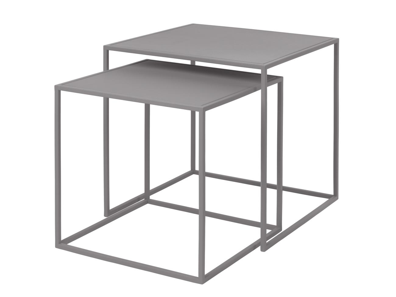 Mesa auxiliar cuadrada