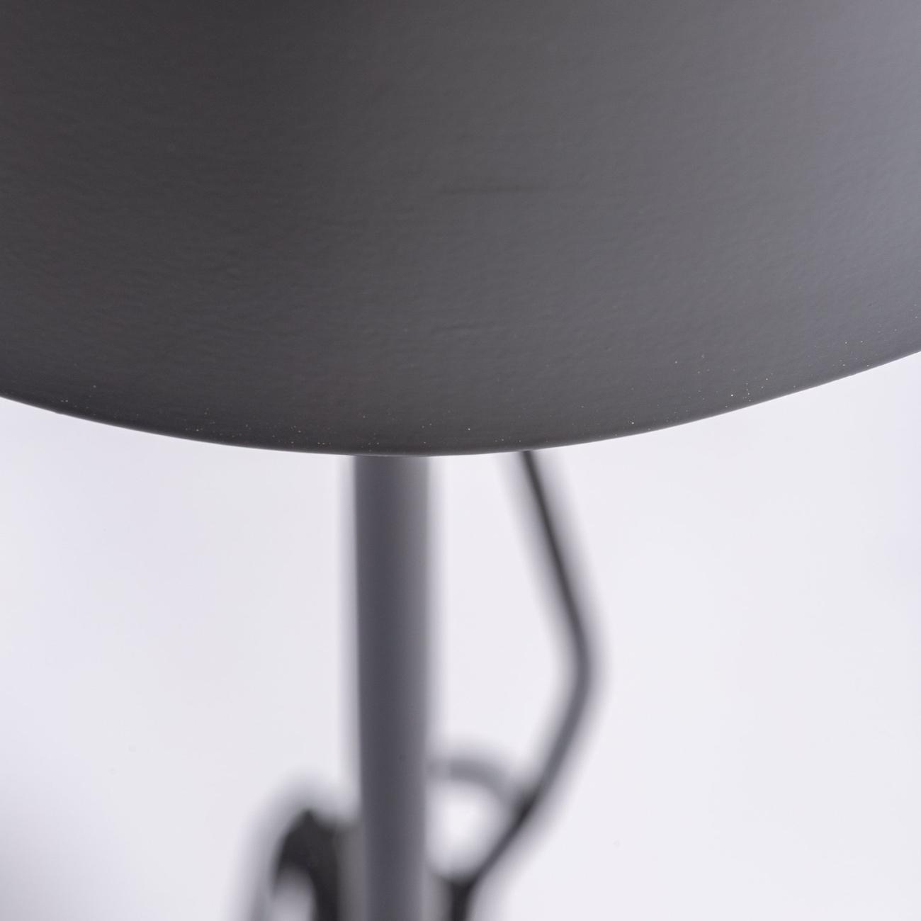 Lámpara de sobremesa en color negro/oro